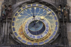 Torre di orologio astronomica ceca Immagini Stock