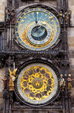 Torre di orologio astronomica ceca Fotografie Stock
