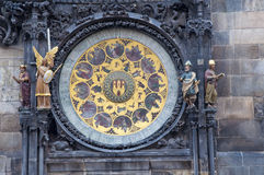 Torre di orologio astronomica ceca Fotografia Stock Libera da Diritti