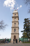 Torre di orologio a Bursa, Turchia fotografie stock libere da diritti