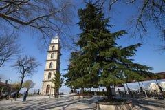 Torre di orologio di Bursa immagine stock libera da diritti