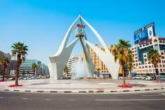 Torre di orologio di Deira nel Dubai immagine stock