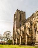 Torre di orologio della cattedrale di Ripon A Fotografia Stock Libera da Diritti