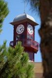 Torre di orologio della città Fotografie Stock Libere da Diritti