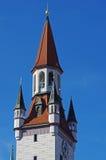 Torre di orologio della città Immagini Stock
