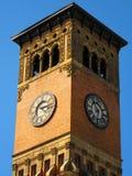 Torre di orologio della costruzione di governo Fotografia Stock