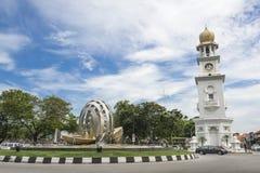 Torre di orologio della regina Victoria Memorial - Immagine Stock