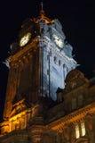 Torre di orologio di Balmoral Immagini Stock Libere da Diritti