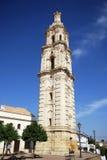 Torre di orologio di Barroque, La Frontera di Aguilar de Immagine Stock