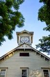 Torre di orologio di Sapporo a Sapporo Giappone Immagini Stock Libere da Diritti