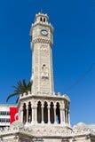 Torre di orologio di Smirne Immagini Stock