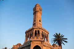 Torre di orologio di Smirne Immagini Stock Libere da Diritti