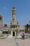 Torre di orologio di Smirne - Smirne Saat Kulesi Fotografia Stock Libera da Diritti