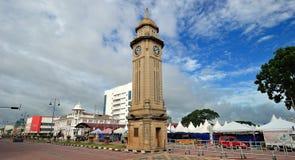 Torre di orologio di Sungai Petani Fotografia Stock Libera da Diritti