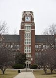 Torre di orologio di tecnologia del vicolo Immagine Stock Libera da Diritti