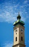 Torre di orologio Heilig Geist Kirche Immagine Stock