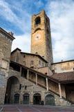 Torre di orologio in Italia Immagini Stock