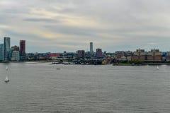 Torre di orologio di Lackawanna - Hoboken, New Jersey fotografia stock