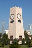 Torre di orologio a Madinat al-Kuwait immagine stock