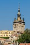 Torre di orologio medievale Fotografia Stock Libera da Diritti