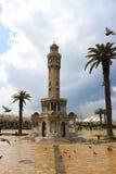 Torre di orologio nello squere di Konak Fotografia Stock