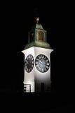 Torre di orologio a Petrovaradin, Novi Sad, Serbia Fotografia Stock Libera da Diritti