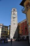 Torre di orologio in polizia Immagini Stock Libere da Diritti