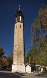Torre di orologio in Prilep macedonia Fotografia Stock