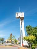 Torre di orologio a scuola Immagine Stock Libera da Diritti