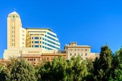 Torre di orologio sul terrazzo del nord Immagine Stock Libera da Diritti