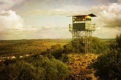 Torre di osservazione Fotografie Stock Libere da Diritti