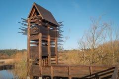 Torre di osservazione dell'uccello Immagine Stock Libera da Diritti