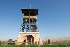 Torre di osservazione della fauna selvatica Fotografia Stock Libera da Diritti