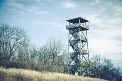 Torre di osservazione di legno Immagine Stock Libera da Diritti