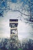 Torre di osservazione di legno Immagini Stock Libere da Diritti