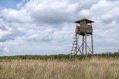 Torre di osservazione di legno 2 Immagine Stock