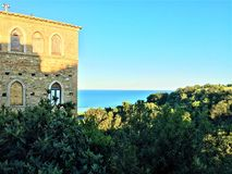 Free Torre Di Palme Town In Marche Region, Italy. Sea, Nature And History Stock Photo - 158868890