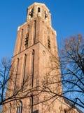 Torre di Peperbus in Zwolle Fotografia Stock