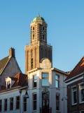 Torre di Peperbus in Zwolle Fotografie Stock