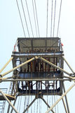 Torre di perforazione in una miniera del ferro Immagine Stock Libera da Diritti