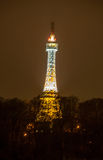 Torre di Petrin di notte Immagine Stock Libera da Diritti