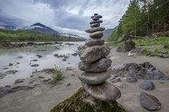 Torre di pietra dei desideri fotografia stock libera da diritti