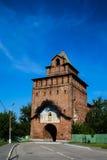 Torre di pietra rossa, Cremlino di Kolomna Immagini Stock Libere da Diritti