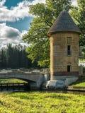 Torre di Pil in Pavlovsk fotografie stock