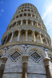 Torre di Pisa (3). Famous leaning tower in Pisa (Italy Stock Images