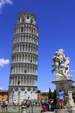 Torre di Pisa - provincia di Pisa - l'Italia fotografie stock libere da diritti