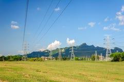 Torre di potenza Fotografie Stock
