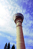 Torre di Puijo Fotografie Stock Libere da Diritti