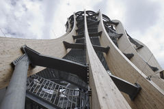 Torre di Pyramidekogel, Klagenfurt, Austria Fotografia Stock