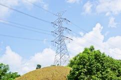 Torre di quella elettrica Immagini Stock Libere da Diritti